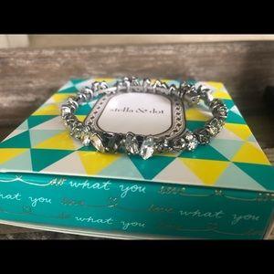 Stella & Dot Hera Coil Bracelet